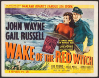 """Wake of the Red Witch (Republic, 1949). Title Lobby Card (11"""" X 14""""). Adventure"""