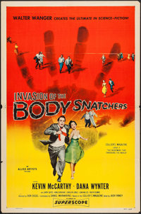 """Invasion of the Body Snatchers (Allied Artists, 1956). One Sheet (27"""" X 41""""). Science Fiction"""