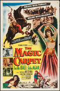"Movie Posters:Adventure, The Magic Carpet (Columbia, 1951). One Sheet (27"" X 41"").Adventure.. ..."