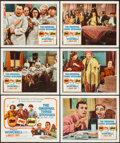 """Movie Posters:Comedy, Stop! Look! and Laugh! (Columbia, 1960). Title Lobby Card & Lobby Cards (5) (11"""" X 14""""). Comedy.. ... (Total: 6 Items)"""