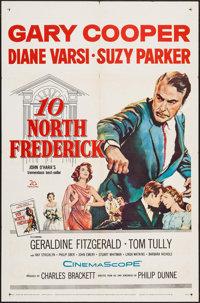 "10 North Frederick & Others Lot (20th Century Fox, 1958). One Sheets (4) (27"" X 41""). Drama. ... (Tota..."