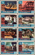 """Movie Posters:Science Fiction, The Angry Red Planet (American International, 1960). Lobby Card Setof 8 (11"""" X 14""""). Science Fiction.. ... (Total: 8 Items)"""