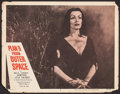 """Movie Posters:Science Fiction, Plan 9 from Outer Space (DCA, 1958). Lobby Card (11"""" X 14""""). Science Fiction.. ..."""