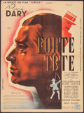 "Movie Posters:Foreign, Head Strong (Societe Des Films Sirius, 1942). French Affiche (23.5"" X 31.5""). Foreign.. ..."