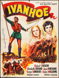 "Movie Posters:Adventure, Ivanhoe (MGM, 1955). French Grande (47.25"" X 63""). Adventure.. ..."