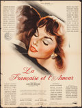 """Movie Posters:Foreign, Love and the Frenchwoman (Unidex, 1960). French Affiche (23.25"""" X 30.75""""). Foreign.. ..."""