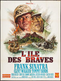 "Movie Posters:War, None But the Brave (Warner Brothers, 1965). French Grande (47"" X63""). War.. ..."