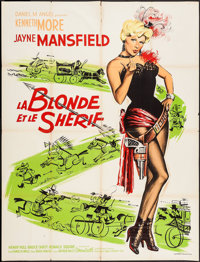 """The Sheriff of Fractured Jaw (20th Century Fox, 1959). French Grande (47"""" X 63""""). Comedy"""