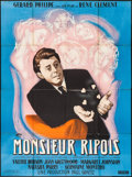 "Movie Posters:Foreign, Monsieur Ripois (Cinedis, 1954). French Grande (46.25"" X 62.5""). Foreign.. ..."