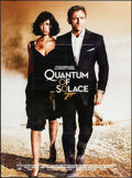 "Movie Posters:James Bond, Quantum of Solace (MGM, 2008). French Grande (46"" X 62""). JamesBond.. ..."