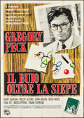 "Movie Posters:Drama, To Kill a Mockingbird (Universal, 1963). Italian 4 - Foglio (55"" X77""). Drama.. ..."