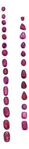 Estate Jewelry:Unmounted Gemstones, Unmounted Rubies. ...