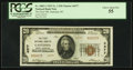 Gastonia, NC - $20 1929 Ty. 2 The First NB Ch. # 4377