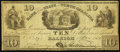 Obsoletes By State:North Carolina, Raleigh, NC- Bank of the State of North Carolina Counterfeit $10 Jan 1, 1851 C24. ...