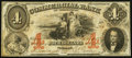 Obsoletes By State:North Carolina, Wilmington, NC- Commercial Bank of Wilmington $4 Jan. 1, 1859 G8b. ...