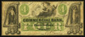 Obsoletes By State:North Carolina, Wilmington, NC- Commercial Bank of Wilmington $4 May 1, 1859 G6b. ...