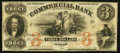 Obsoletes By State:North Carolina, Wilmington, NC- Commercial Bank of Wilmington $3 Feb. 1, 1862 G4b. ...
