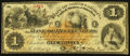 Obsoletes By State:North Carolina, Charlotte, NC- Bank of Mecklenburg $1 Apr. 1, 1875 . ...