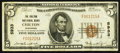 National Bank Notes:Wisconsin, Chilton, WI - $5 1929 Ty. 1 The Chilton NB Ch. # 5933. ...
