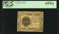 Colonial Notes:Continental Congress Issues, Continental Currency February 17, 1776 $7 PCGS Gem New 65PPQ.. ...