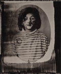Photographs:Platinum, Luis González Palma (Spanish, b. 1957). Clown Boy, 1998.Platinum. 4 x 3-3/8 inches (10.2 x 8.6 cm). Signed and editione...