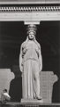 Walker Evans (American, 1903-1975) Caryatid, Chicago, 1946 Gelatin silver, printed later 8-3/4 x 5 inches (22.2 x 12