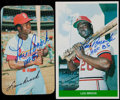 Baseball Cards:Lots, Lou Brock Signed Cards Lot of 50 Different. ...