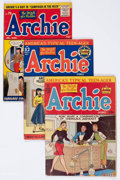 Golden Age (1938-1955):Humor, Archie Comics Group of 4 (Archie, 1948-56) Condition: AverageGD/VG.... (Total: 4 Comic Books)