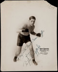 Boxing Collectibles:Autographs, Tuffy Griffiths Signed Original Photograph....