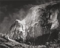 Photographs, Ansel Adams (American, 1902-1984). Half Dome, Blowing Snow, Yosemite National Park, California, 1955. Gelatin silver, pr...
