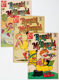 Bronze Age (1970-1979):Humor, Ronald McDonald #2-4 Group (Charlton, 1970-71) Condition: AverageVF+.... (Total: 3 Comic Books)