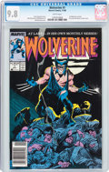 Modern Age (1980-Present):Superhero, Wolverine #1 (Marvel, 1988) CGC NM/MT 9.8 White pages....