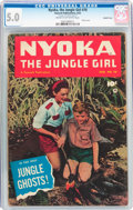 Golden Age (1938-1955):Adventure, Nyoka the Jungle Girl #70 Double Cover (Fawcett Publications, 1952) CGC VG/FN 5.0 Cream to off-white pages....