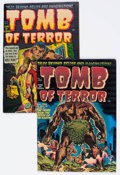 Golden Age (1938-1955):Horror, Tomb of Terror #1 and 4 File Copy Group (Harvey, 1952) Condition:Average VF.... (Total: 2 Comic Books)