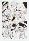 Original Comic Art:Panel Pages, Jill Thompson and Romeo Tanghal Wonder Woman #58 Story Page8 Original Art (DC, 1991)....