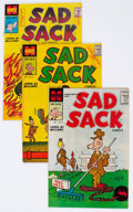 Silver Age (1956-1969):Humor, Sad Sack Armed Forced Complimentary Comics File Copy Long Box Group (Harvey, 1958-62) Condition: Average NM-....