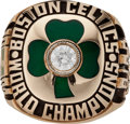 Basketball Collectibles:Others, 1983-84 Larry Bird Boston Celtics NBA Championship Salesman's Sample Ring. ...