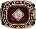 Baseball Collectibles:Others, 2009 Ozzie Smith All-Star Ring with Player Letter. ...
