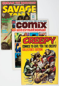 Miscellaneous Magazines Horror Group (Various Publishers, 1964-74) Condition: FN+.... (Total: 8 Comic Books)