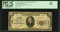 National Bank Notes:Pennsylvania, Parnassus, PA - $20 1929 Ty. 1 The Parnassus NB Ch. # 7363. ...