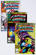 Modern Age (1980-Present):Superhero, Captain America Box Lot (Marvel, 1980-93) Condition: Average NM....