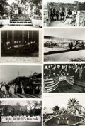Books:Prints & Leaves, [U.S. History: 1900 - 1919]. Archive of Approximately Fifty-Five Photographs and Press Prints Relating to U.S. History from 19...