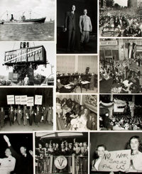 [U.S. History: 1940s]. Archive of Approximately Fifty-Five Photographs and Press Prints Relating to U.S. History in the...