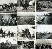 [Civil War]. Archive of Approximately 170 Photographs Relating to the Civil War