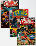 Bronze Age (1970-1979):Horror, Creatures on the Loose #10-37 Complete Series Group (Marvel,1971-75) Condition: Average FN+.... (Total: 28 Comic Books)