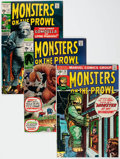 Bronze Age (1970-1979):Horror, Monsters on the Prowl #9-30 Complete Series Group (Marvel, 1971-74)Condition: Average FN/VF.... (Total: 22 Comic Books)