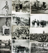 [Civil War]. Archive of Approximately 185 Photographs Relating to the Civil War