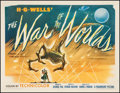 """Movie Posters:Science Fiction, The War of the Worlds (Paramount, 1953). Half Sheet (21.25"""" X 28"""") Style A. Science Fiction.. ..."""