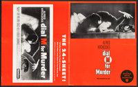 """Dial M for Murder (Warner Brothers, 1954). Uncut Pressbook (20 Pages, 12"""" X 15""""). Hitchcock"""