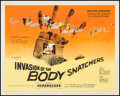 "Movie Posters:Science Fiction, Invasion of the Body Snatchers (Allied Artists, 1956). Half Sheet(22"" X 27.75"") Style A. Science Fiction.. ..."